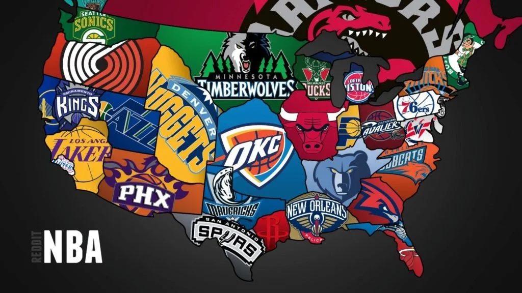 L'evoluzione dei loghi NBA