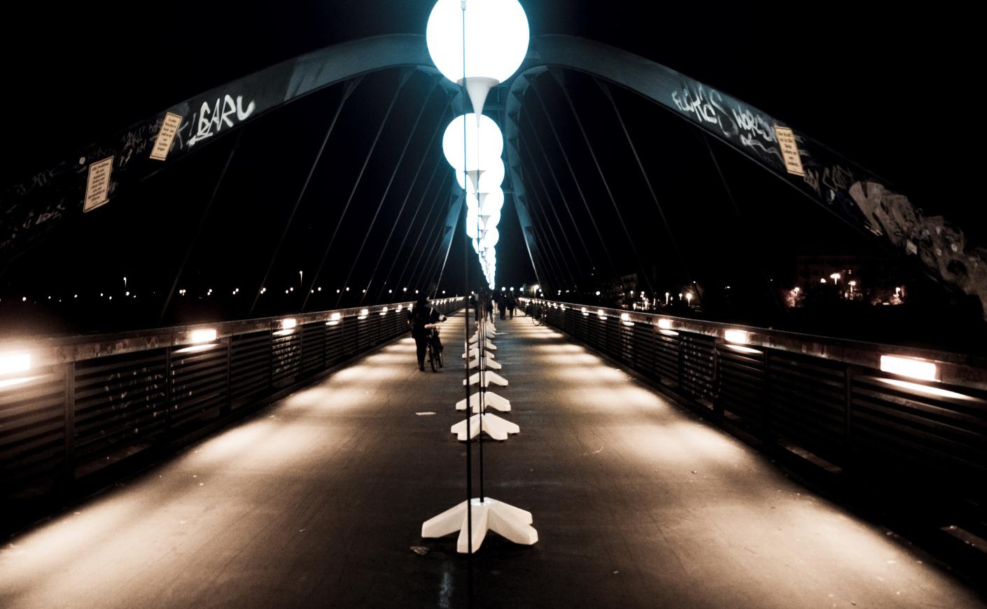 Ballonaktion – Lichtgrenze